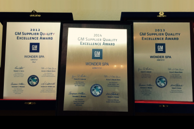 General Motors Supplier Quality Excellence Award
